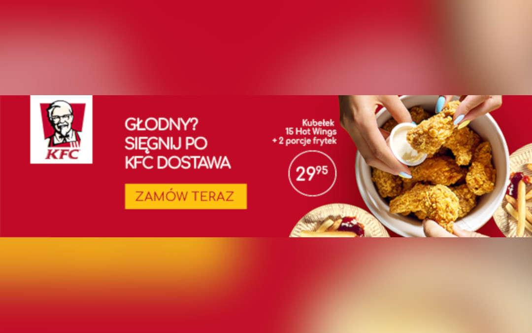 Głodny? Sięgnij po KFC dostawa!
