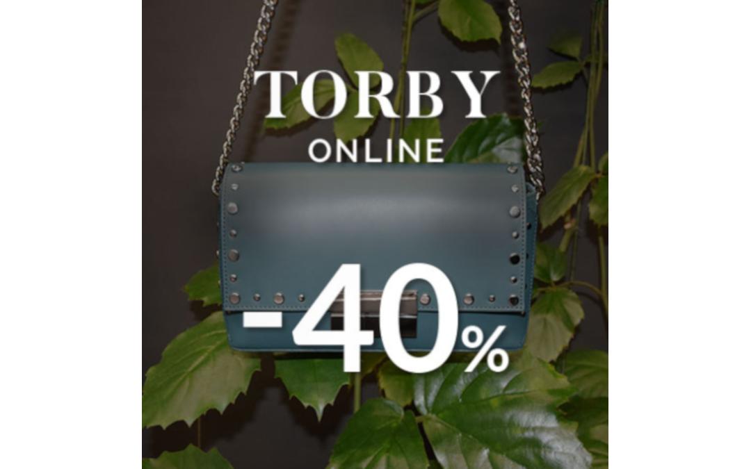 Torby -40% taniej