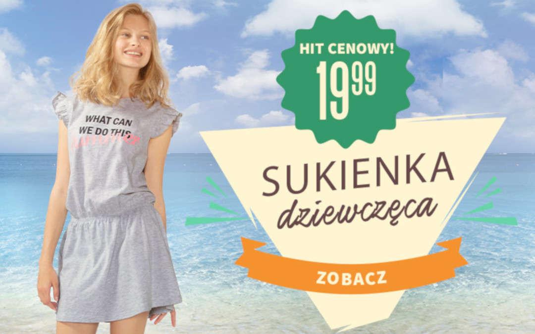 Sukienki od 19,99 zł!