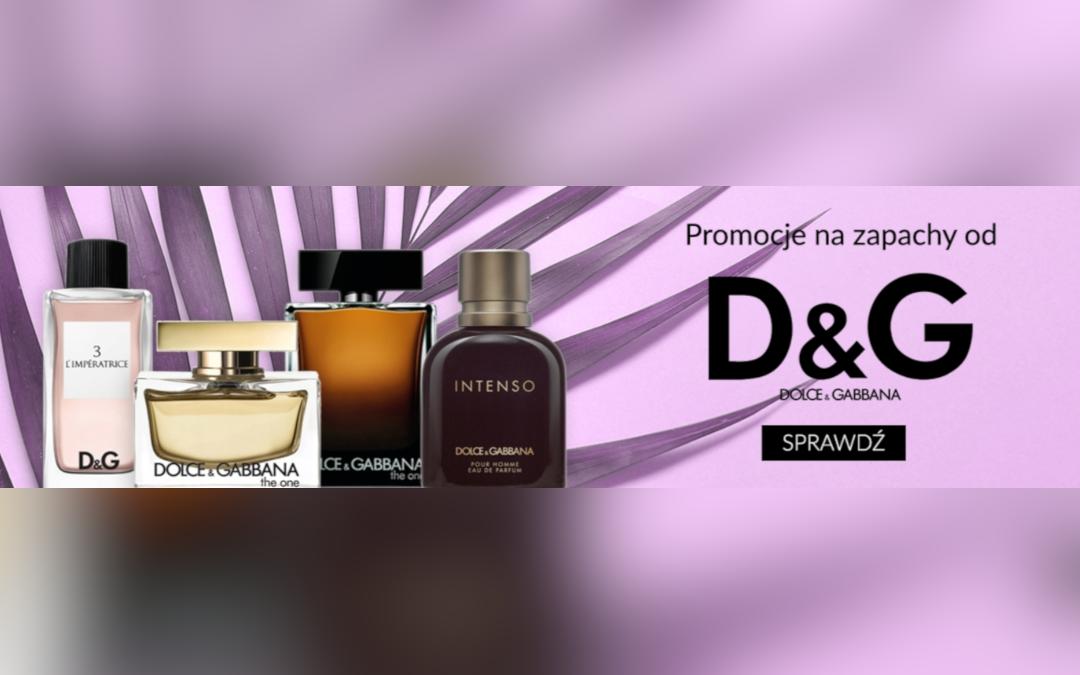 Promocje na zapachy D&G