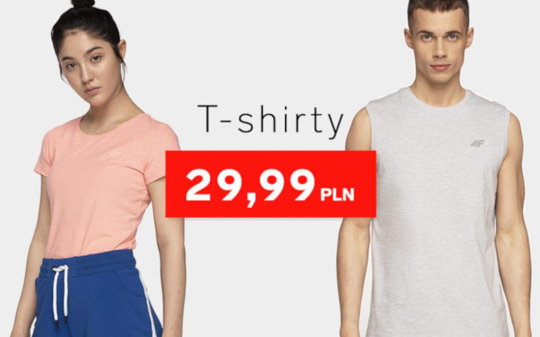 T-shirty od 29,99 zł