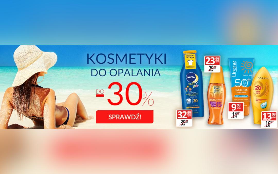 -30% na kosmetyki do opalania