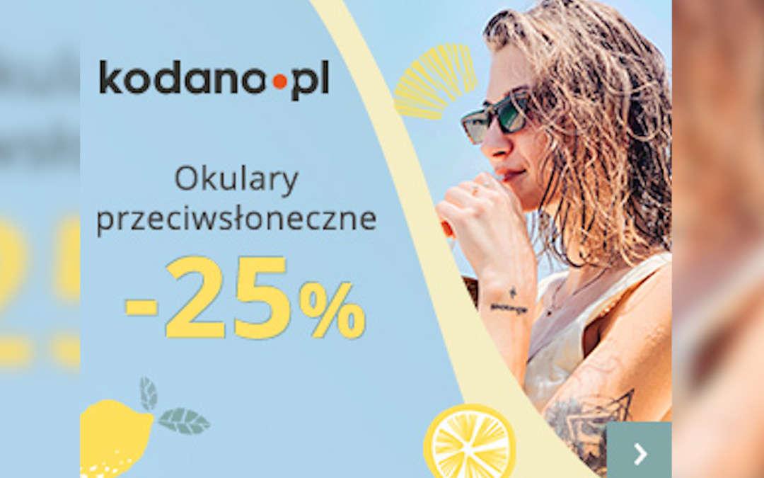 Okulary przeciwsłoneczne -25%