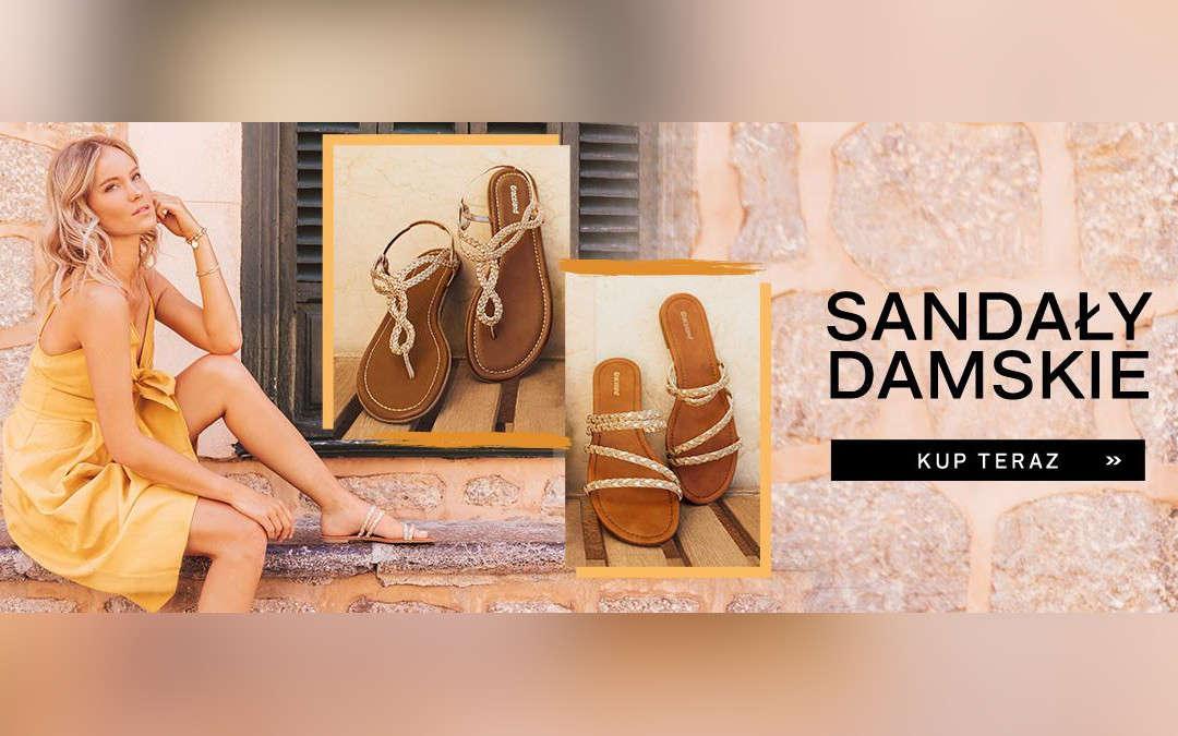 Sandały damskie w supercenach