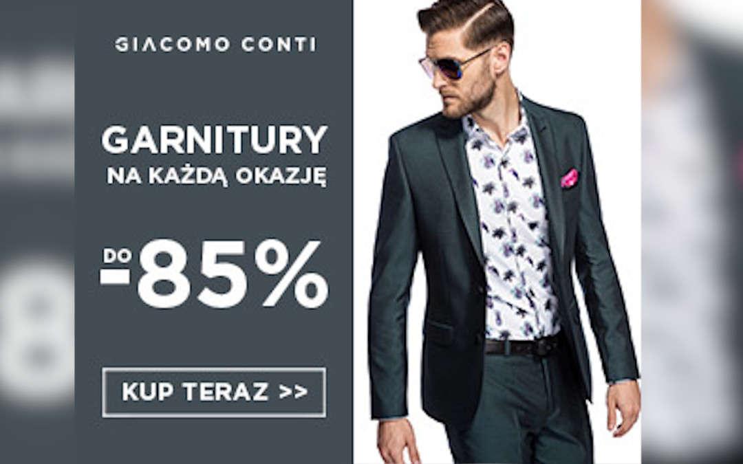 Garnitury do -85%