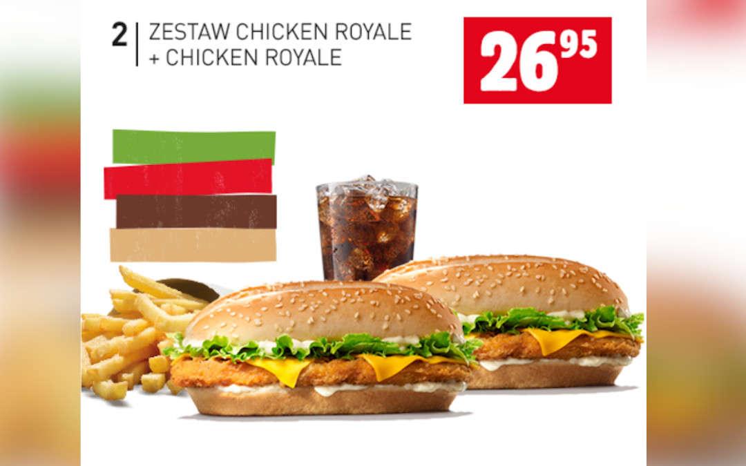 Zestaw Chicken Royale + Chicken Royale