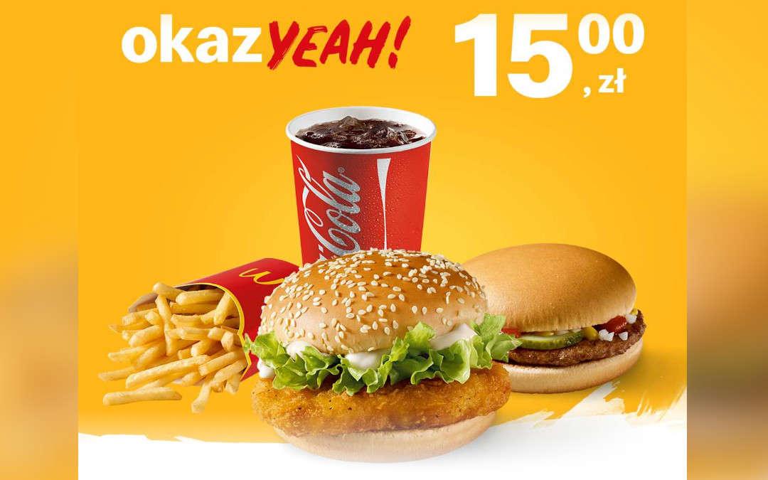 McZestaw McChicken + Hamburger