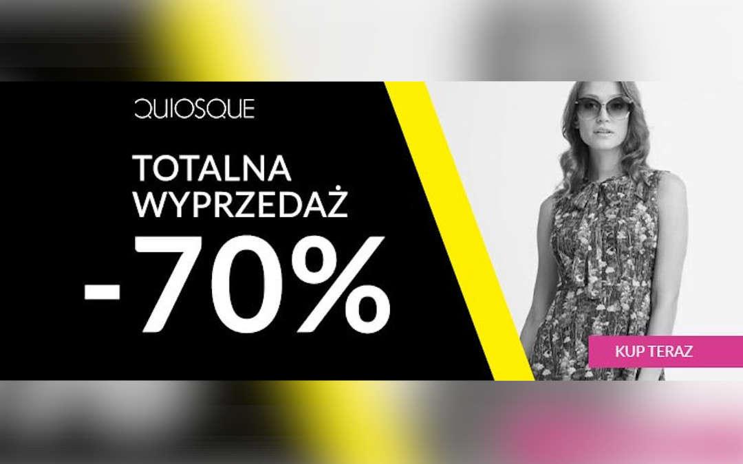 Totalna wyprzedaż -70%