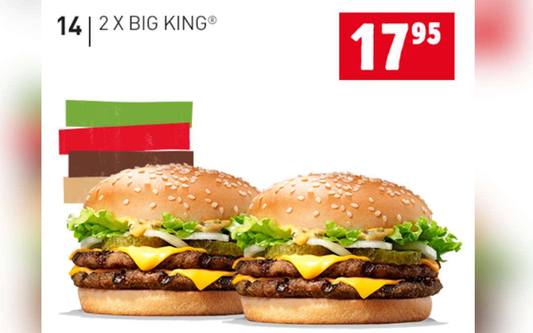 2 x Big King