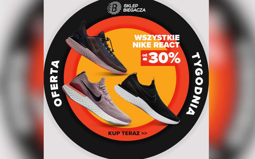 Wszystkie Nike React od -30%