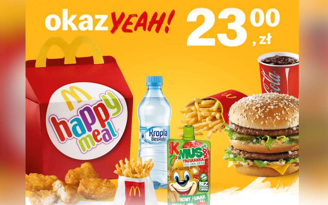 Happy Meal + McZestaw