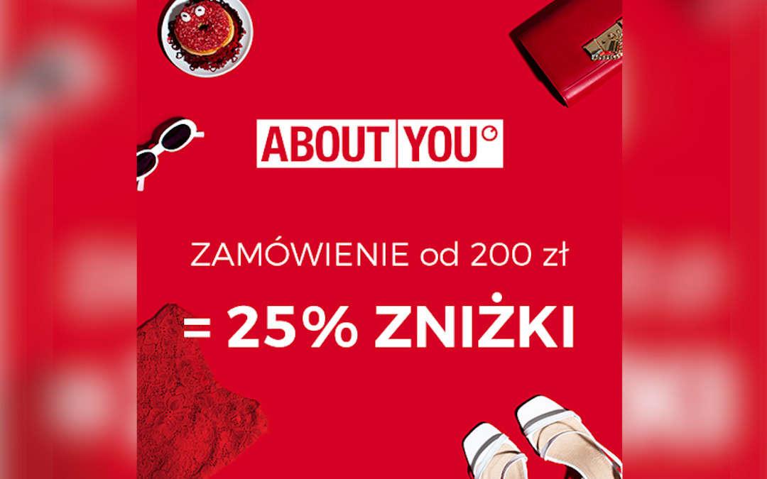 Rabat -25% na wszystko