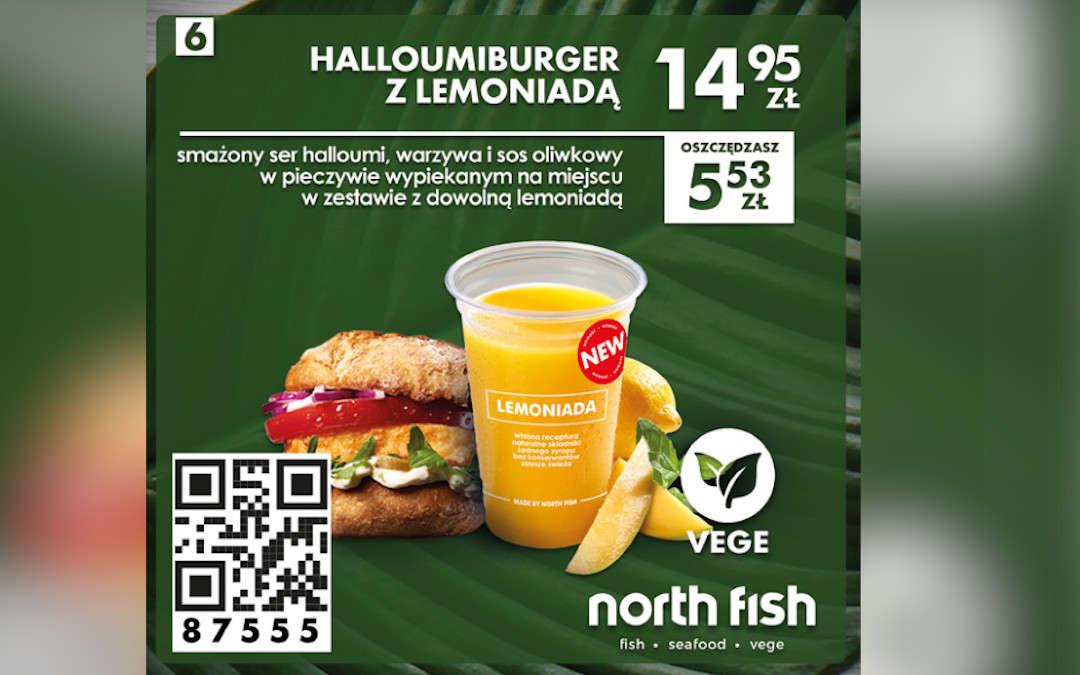 Halloumiburger z lemoniadą