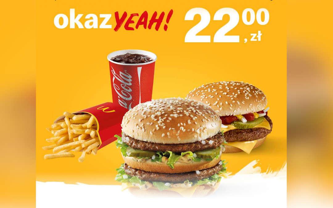 McZestaw Big Mac + McRoyal