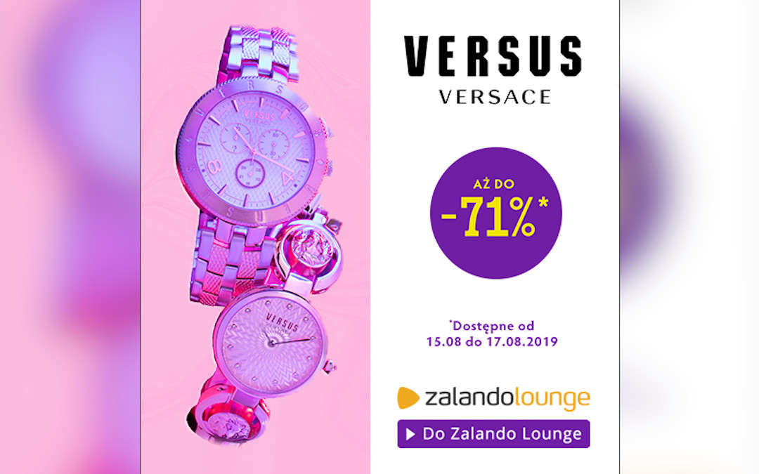 Versus Versace aż do -71%
