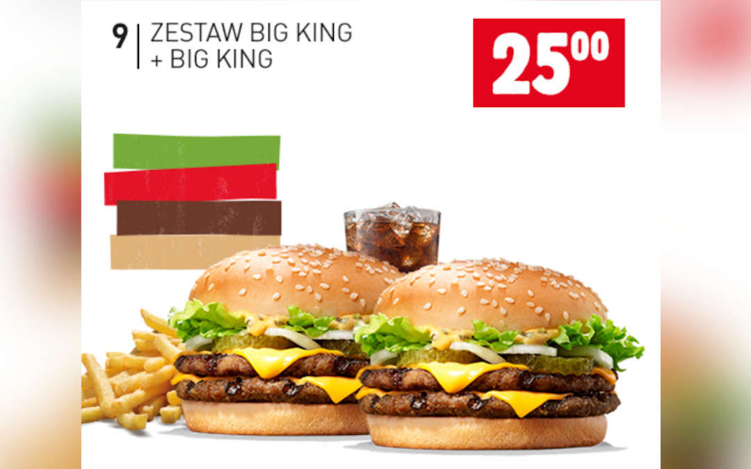Zestaw Big King + Big King